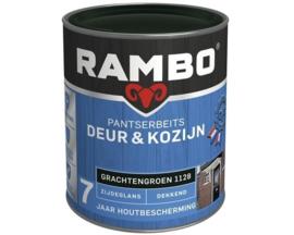 Rambo -  Pantserbeits Deur en Kozijn Dekkend Hoogglans Grachtengroen 1128 2,5 Liter