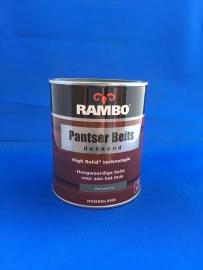 RAMBO Pantser Beits Dekkend - ZILVERGROEN 1126 - 750 ml