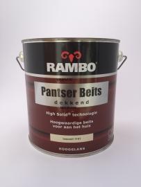 RAMBO Pantser Beits Dekkend - IVOORWIT 1101 - 2,5 Liter