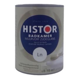 Histor Badkamer Muurverf Zijdeglans Schimmelbestendig - 1 Liter