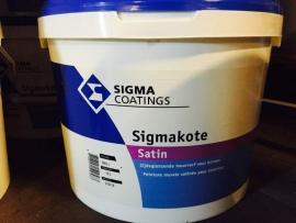 Sigma Sigmakote Satin - WIT - 10 Liter