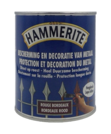 Hammerite Bordeaux Rood Hoogglans Lak - 750 ml