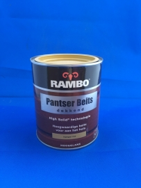 RAMBO Pantser Beits Dekkend - KOPERGEEL 1104 - 750 ml