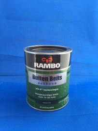 RAMBO Buitenbeits Dekkend - ANTRACIET 1137 - 750 ml