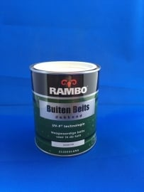 RAMBO Buitenbeits Dekkend - IVOORWIT 1101 - 750 ml