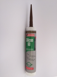 Silicon 60 Neutrale siliconenkit - BRUIN