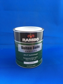 RAMBO Buitenbeits Dekkend - ZUIVERWIT 1100 - 750 ml