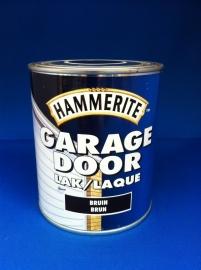 Hammerite Garagedoor lak - BRUIN - 750 ml