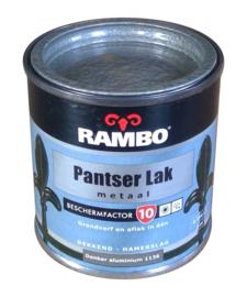 Rambo Pantserlak Donker Aluminium Hamerslag