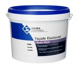 SIGMA Façade Elastocoat Semi-Matt - WIT - 10 Liter