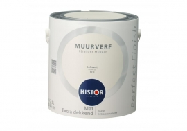 Histor Perfect Finish Muurverf - LELIEWIT 6213 -  2,5 Liter
