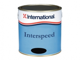 Interspeed koperhoudende antifouling - Donkerblauw - Zwart