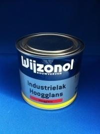 Wijzonol Industrielak Hoogglans - WIT EN LICHTE KLEUREN - 500 ml
