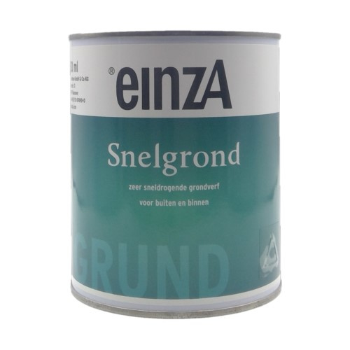 EinzA Snelgrond - WIT of GRIJS - 750 ml