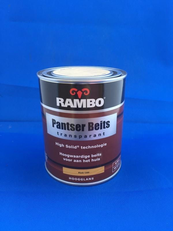 RAMBO Pantserbeits Transparant - BLANK 1200 - 750 ml