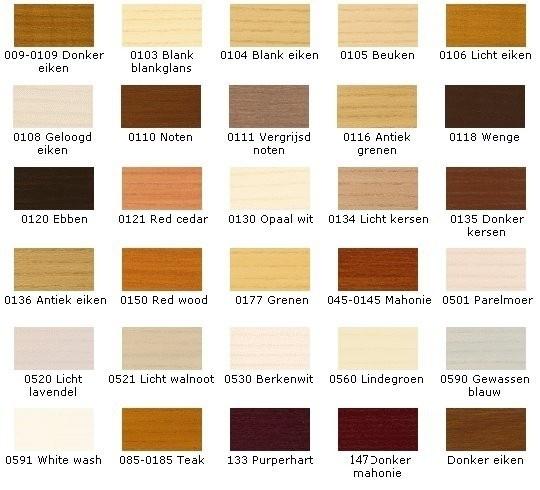 Betere SCHUTTINGBEITS - Impregnerend - 20 liter - KLEURLOOS of kleur AS-35