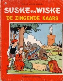 Suske en Wiske - De zingende kaars [1e druk]