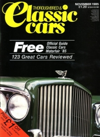 Thoroughbred & Classic Cars - November 1985