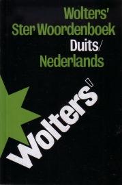 Wolters' Ster Woordenboek Duits-Nederlands + Nederlands-Duits [2 stuks]