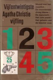 25. Vijfentwintigste Agatha Christie Vijfling [hardcover]
