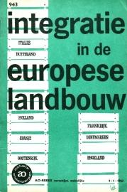 AO-boekje 0943 - Integratie in de Europese landbouw