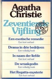 3 Agatha Christie vijflingen naar keuze voor EUR 10,00 [paperbacks]