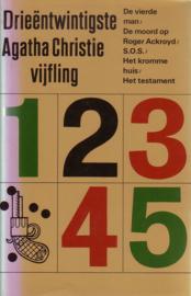 23. Drieëntwintigste Agatha Christie Vijfling [hardcover]