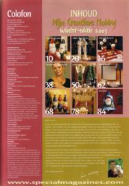 Mijn Creatieve Hobby - Winter 2003