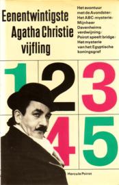 21. Eenentwintigste Agatha Christie Vijfling [hardcover]