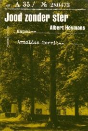 Albert Heymans - Jood zonder ster [gesigneerd]