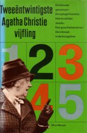 22. Tweeëntwintigste Agatha Christie Vijfling [hardcover]