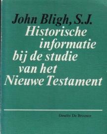 John Bligh, S.J. - Historische informatie bij de studie van het Nieuwe Testament