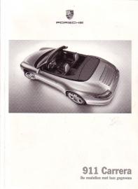 Porsche - 911 Carrera: De modellen met hun gegevens