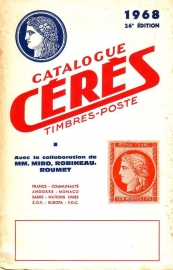 Catalogue Cérès Timbres-Poste 1968