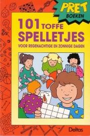 Pretboeken - 101 toffe spelletjes voor regenachtige en zonnige dagen