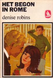 Witte Raven S 122: Denise Robins - Het begon in Rome