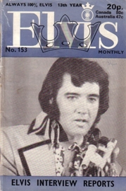 Elvis Monthly No. 153