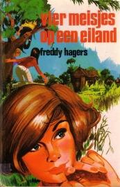 Freddy Hagers - Vier meisjes op een eiland