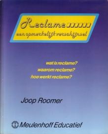 Joop Roomer - Reclame, een opmerkelijk verschijnsel