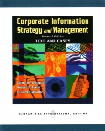 Corporate Information Strategy and Management: Text and Cases [Seventh Edition]