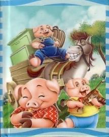 Sprookjesboekje - De drie kleine biggetjes [miniboekje]