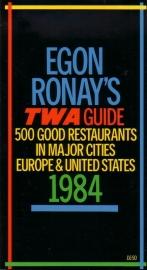 Egon Ronay`s TWA Guide 1984