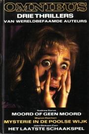 Thriller omnibus - drie thrillers van wereldbefaamde auteurs