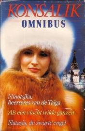 Heinz G. Konsalik - Ninotsjka, heerseres van de Taïga/Als een vlucht wilde ganzen/Natasja, de zwarte engel [omnibus]