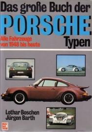 Porsche: Das grosse Buch der Porsche Typen - Alle Fahrzeuge von 1948 bis heute