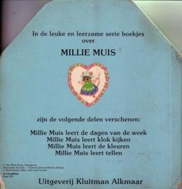 Millie Muis leert tellen [kartonboekje]