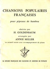 Chansons populaires françaises pour pipeaux de bambou [blokfluit]