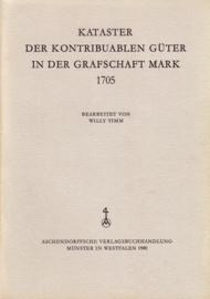 Kataster der kontribuablen Güter in der Grafschaft Mark 1705