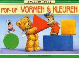 Ewout en Teddy - Pop-Up Vormen & Kleuren