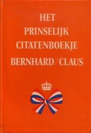 Het prinselijk citatenboekje Bernhard/Claus